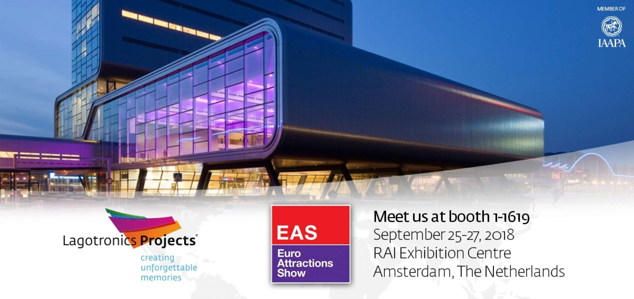 Lagotronics Projects Eas Amsterdam 2018