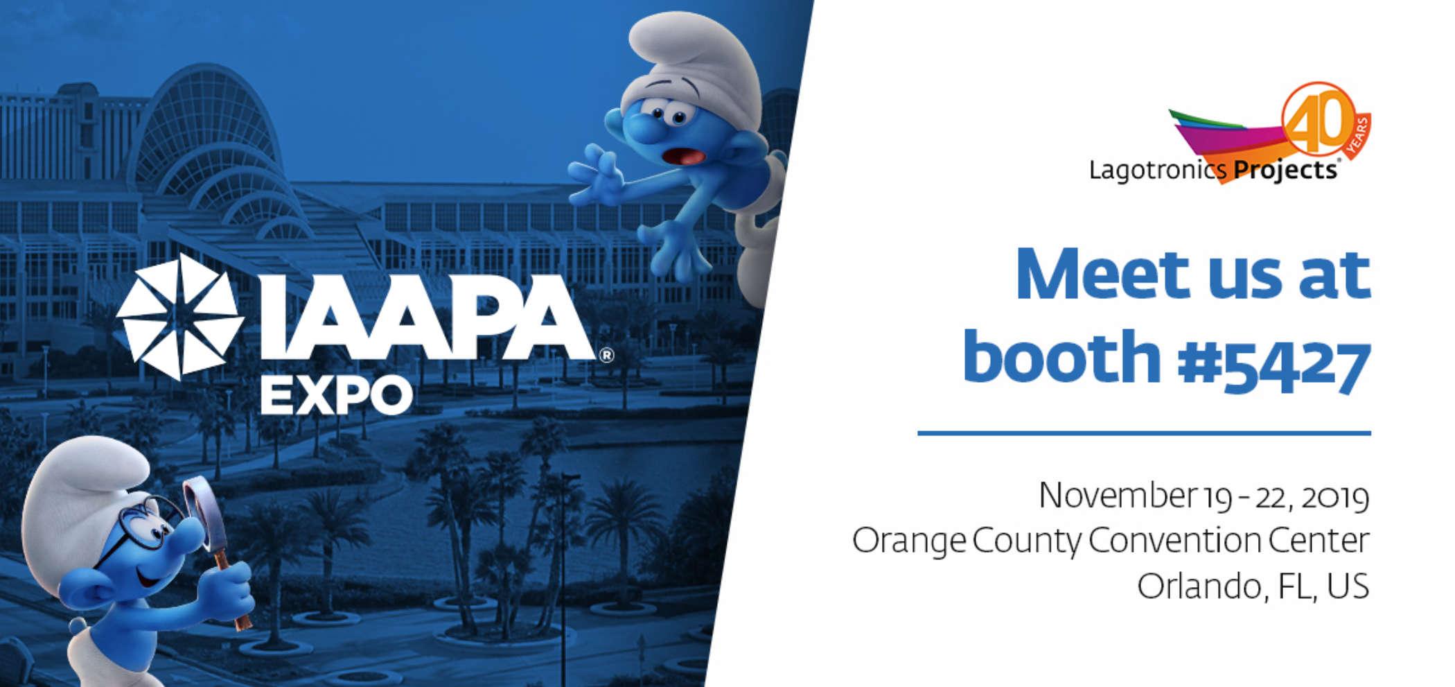 Iaapa Expo Lagotronics Projects 2019