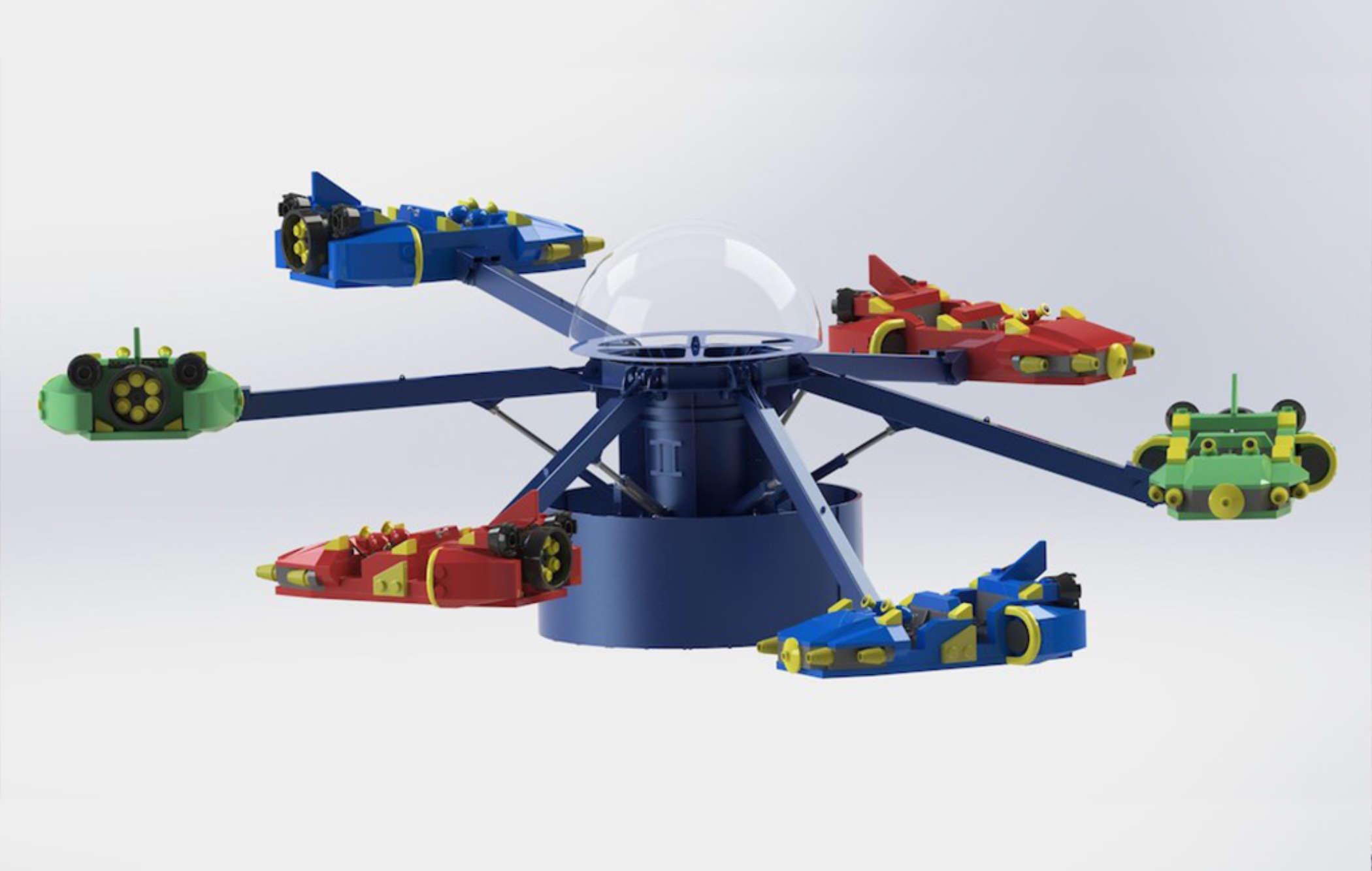 Kais Sky Masters Legoland Japan 5