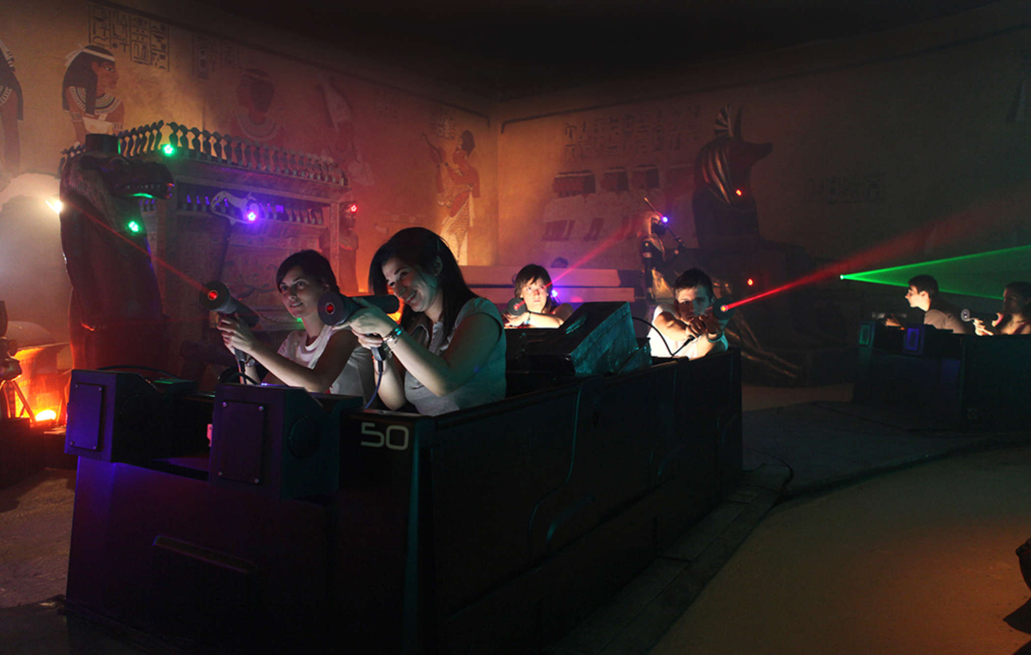 Traditional Dark Ride
