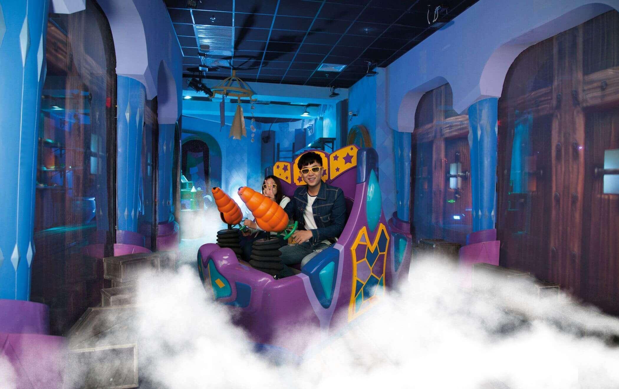 Interactive attractions indoor rides 1