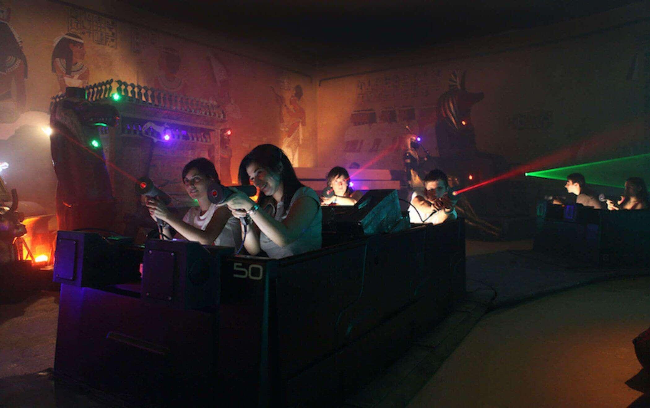 Interactive attractions indoor rides 3
