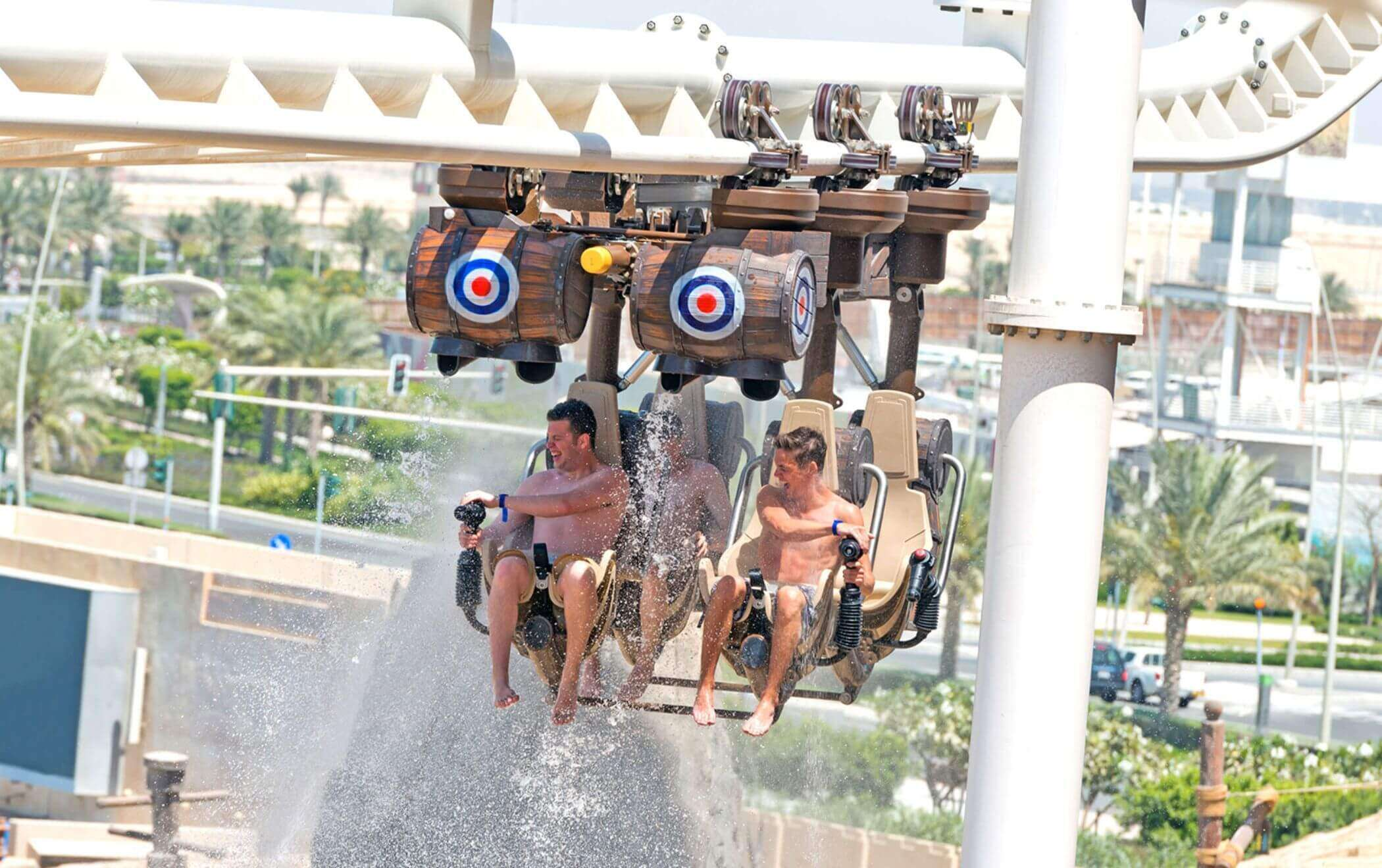 Interactive attractions outdoor rides 1