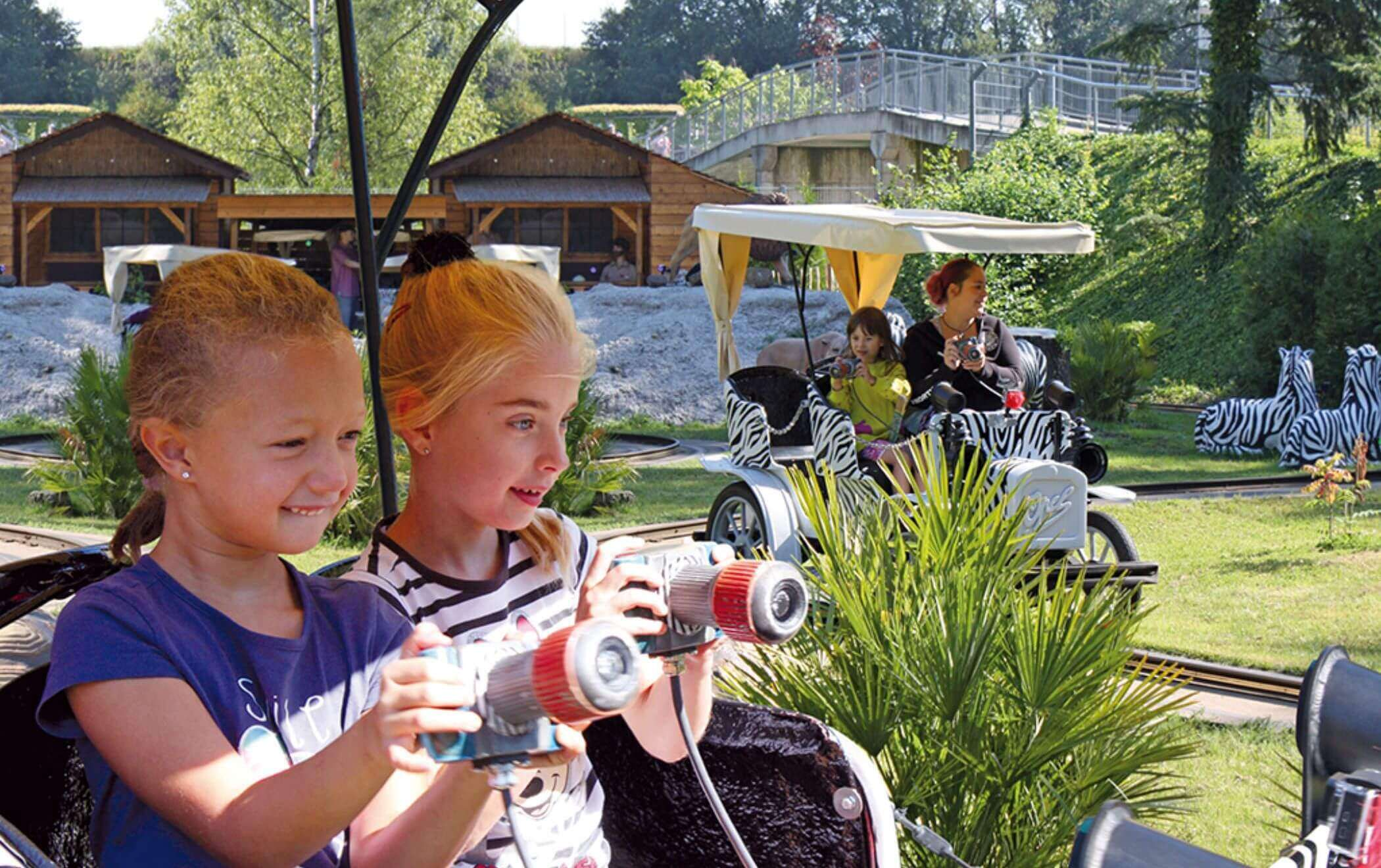 Interactive attractions outdoor rides 3