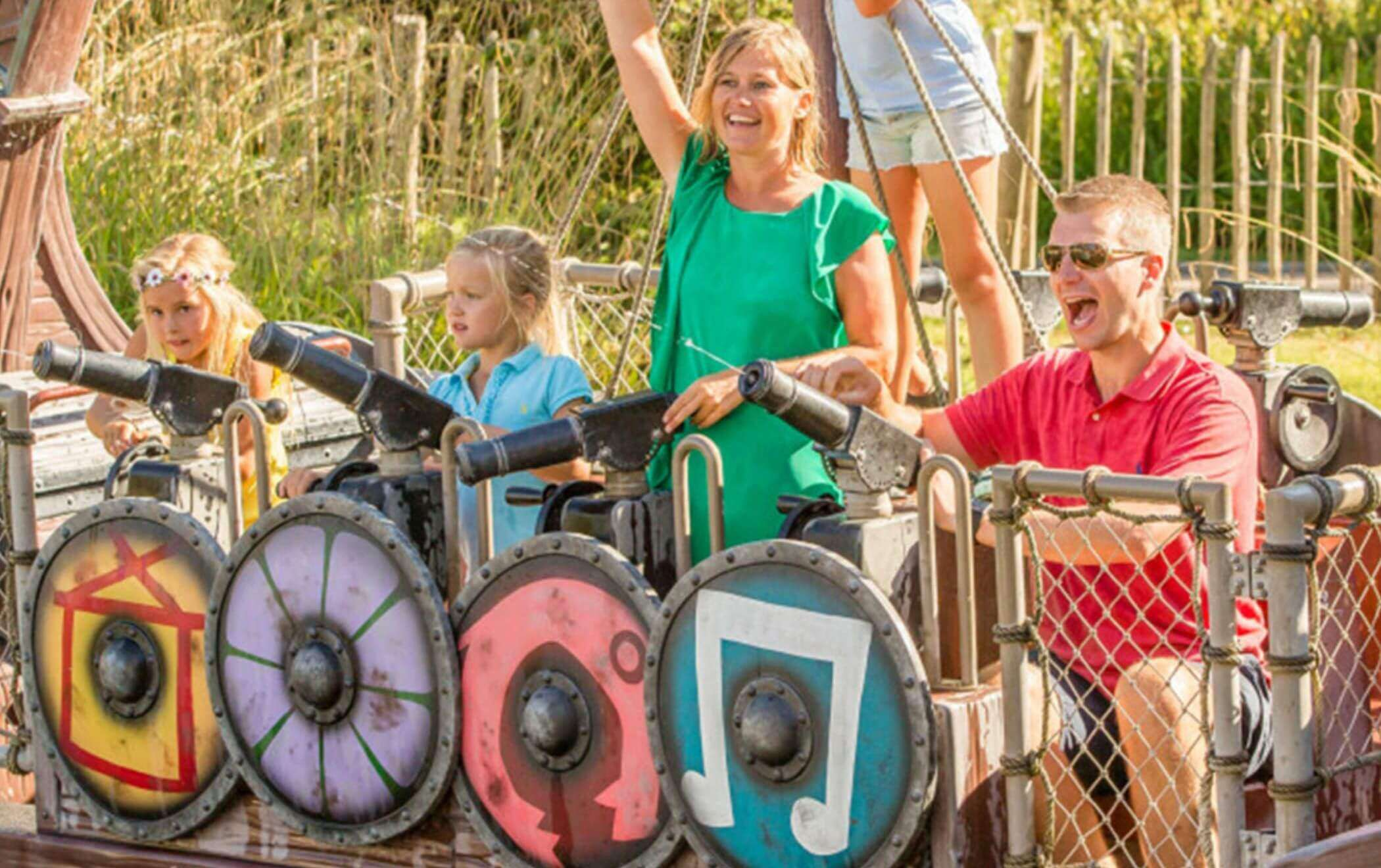 Interactive attractions outdoor rides 4