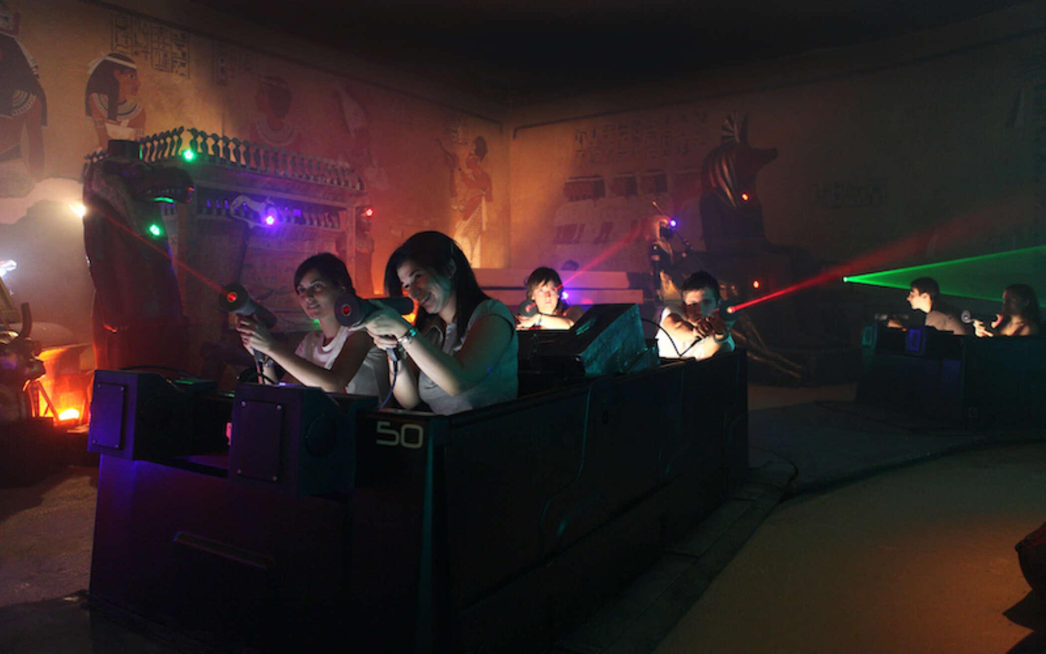 Interactive dark rides 1