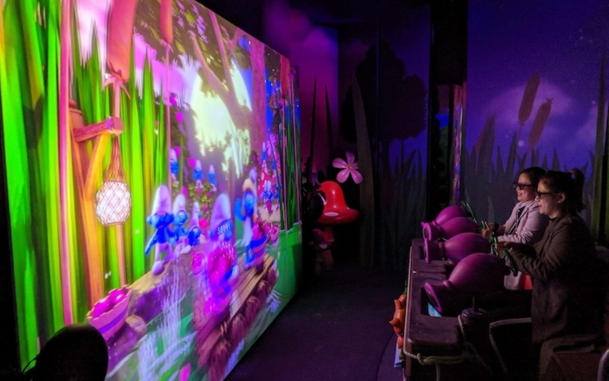 Interactive dark rides 2